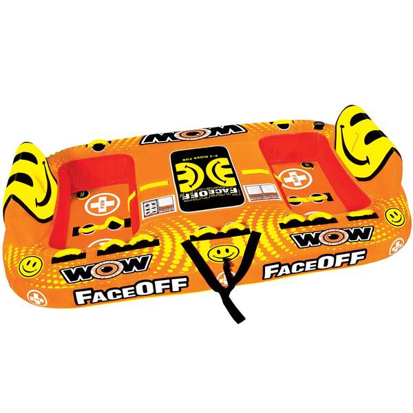 Wow Sports Faceoff 4 Towable Tube