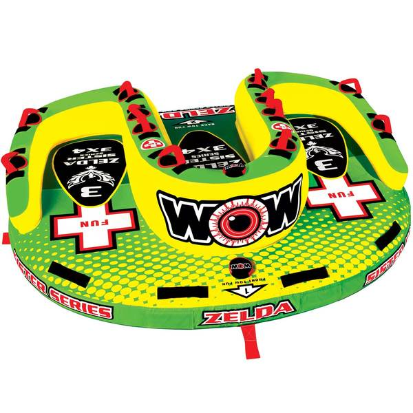 Wow Sports Zelda Sister Series Towable Tube