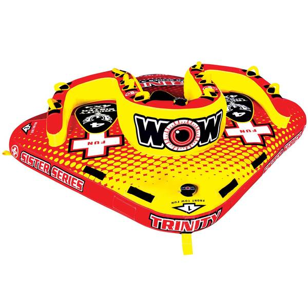 Wow Sports Trinity Sister Series Towable Tube