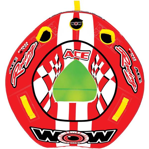 Wow Sports Ace Racing Towable Tube Sale $69.99 SKU: 16207557 ID# 15-1120 UPC# 4897034342765 :