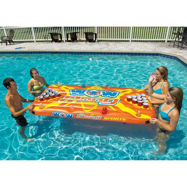 Wow Sports Pong Inflatable Game Table Sale $72.99 SKU: 16207581 ID# 15-2020 UPC# 4897034342734 :