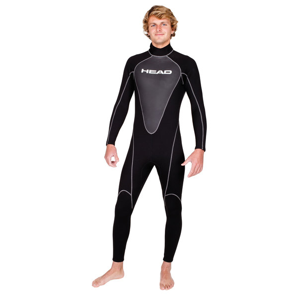HEAD Men's Wave Wetsuit, 2.5mm, M Sale $99.99 SKU: 16208043 ID# 483800BL M UPC# 792460139160 :