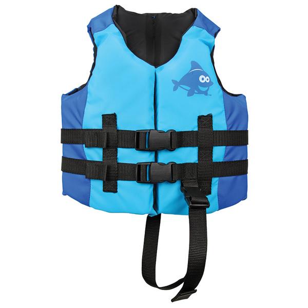 Swimways Kids Sea Squirts Life Vest, Aqua/Royal