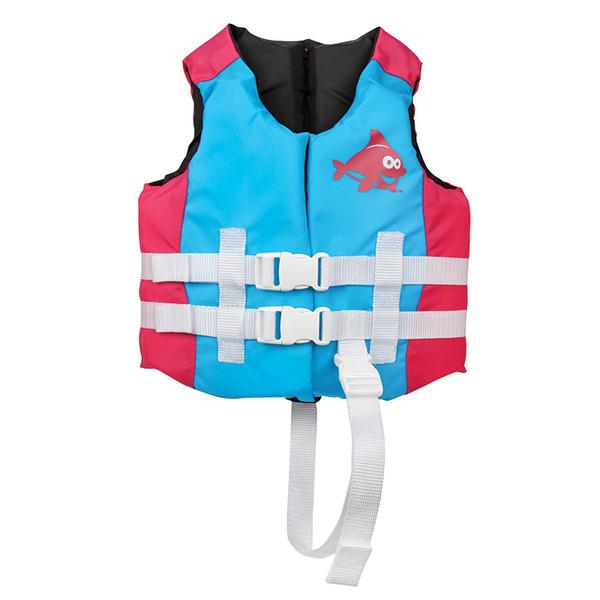 Swimways Kids Sea Squirts Life Vest, Aqua/Pink