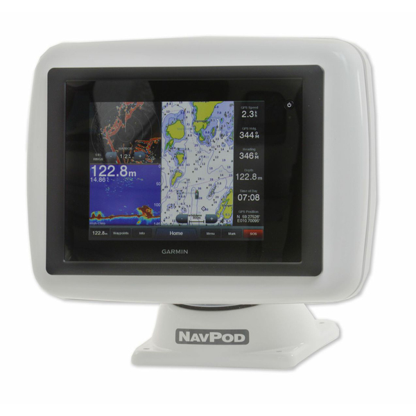 Navpod PowerPod Pre-Cut for Garmin GPSMAP 8008 / 8208