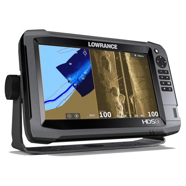 Lowrance HDS-9 Gen3 Touchscreen Fishfinder / Chartplotter, with 83/200kHz Tranducer