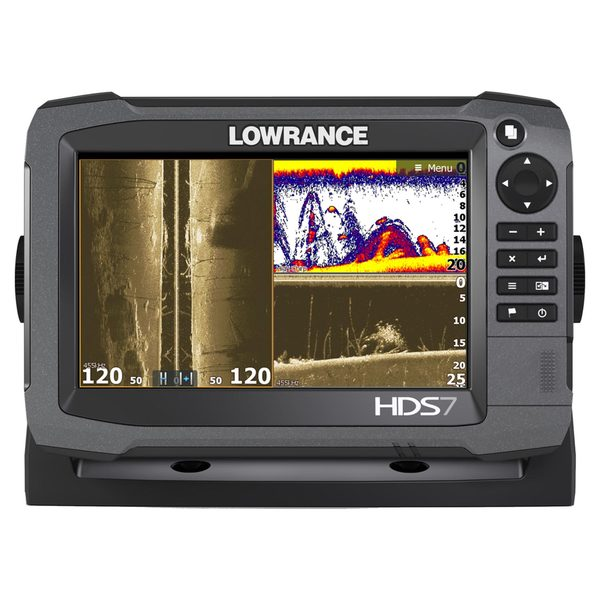 Lowrance HDS-7 Gen3 Touchscreen Fishfinder/Chartplotter, with 50/200 kHz Transducer