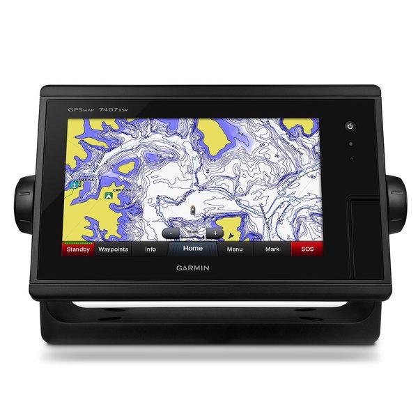 Garmin GPSMAP 7407xvs Multi-touch Widescreen Chartplotter/Sonar Combo