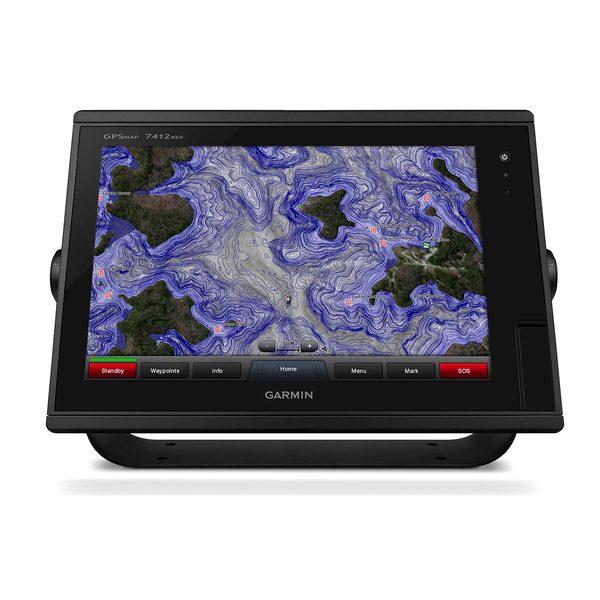 Garmin GPSMAP 7412xvs Multi-touch Widescreen Chartplotter/Sonar Combo