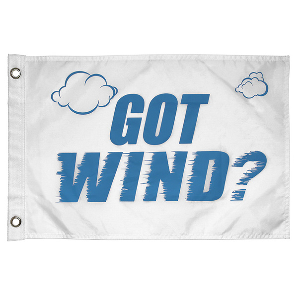 Kwik Tek Got Wind Novelty Flag Sale $9.99 SKU: 16225450 ID# F-005GW UPC# 737826040407 :