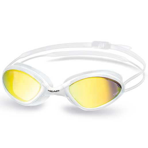 HEAD Tiger Race LSR Mirrored Goggles, White/Smoke Sale $27.99 SKU: 16225781 ID# 451040CLWH SMK UPC# 792460098221 :