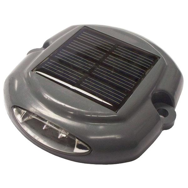 Dock Edge Solar Puck Light, 2-Pack