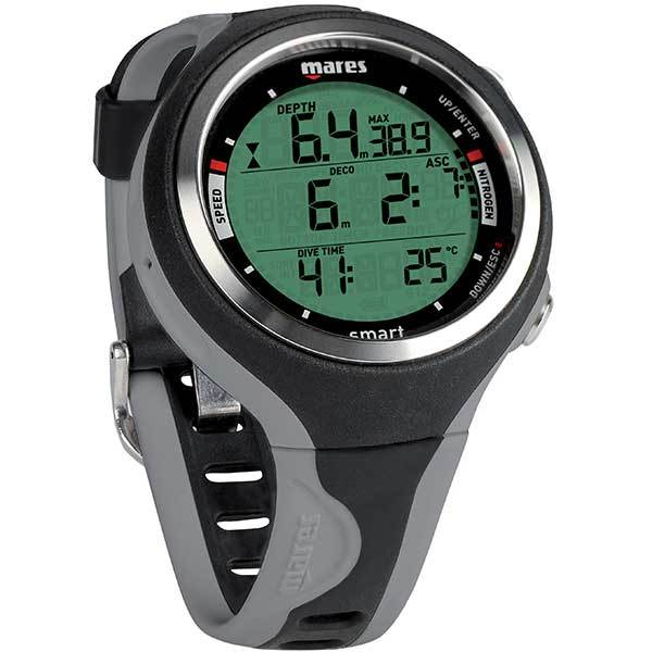 Mares Smart Dive Computer, Black/Grey Sale $399.99 SKU: 16231565 ID# 414129BKGR UPC# 792460206022 :