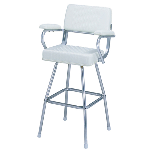 Garelick Chair-Pilot SS 4-Leg, White Sale $659.99 SKU: 16241846 ID# 43131-01:02 :
