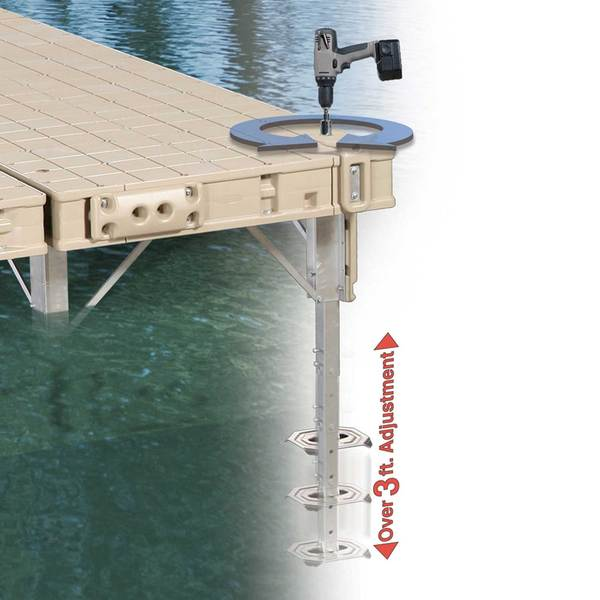 Playstar Premium Adjustable Dock Leg West Marine