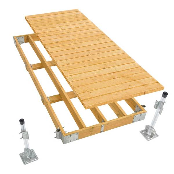 Playstar Commercial Grade Stationary Dock, 4 ft' x 10'