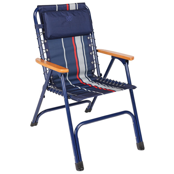 west marine skipper striped deck chair west marine