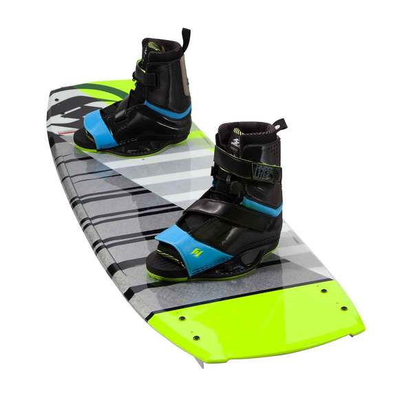 Ho Sports Baseline 141cm Wakeboard Combo with Focus Bindings Size 10-14