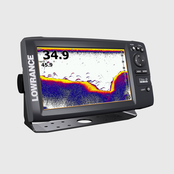 Lowrance Elite-9 CHIRP Fishfinder/Chartplotter, Enhanced US Lakes Mapping, Low CHIRP Transducer Sale $1099.99 SKU: 16246811 ID# 000-12180-001 UPC# 9420024136744 :