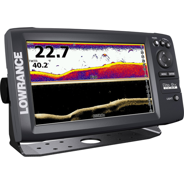 Lowrance Elite-9x CHIRP Fishfinder with Low CHIRP Transducer Sale $899.99 SKU: 16246878 ID# 000-12183-001 UPC# 9420024136799 :