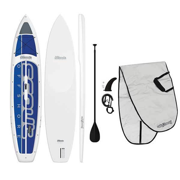 Jimmy Styks 12'6 Scout Offshore Stand-Up Paddleboard Package