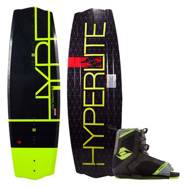 Hyperlite State 2.0 Wakeboard 135cm, Combo with Remix OT Bindings Size 4-8