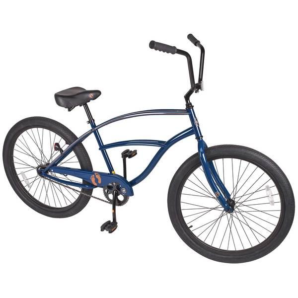 Hang Ten Mens 26 Single-Speed Cruiser Bike