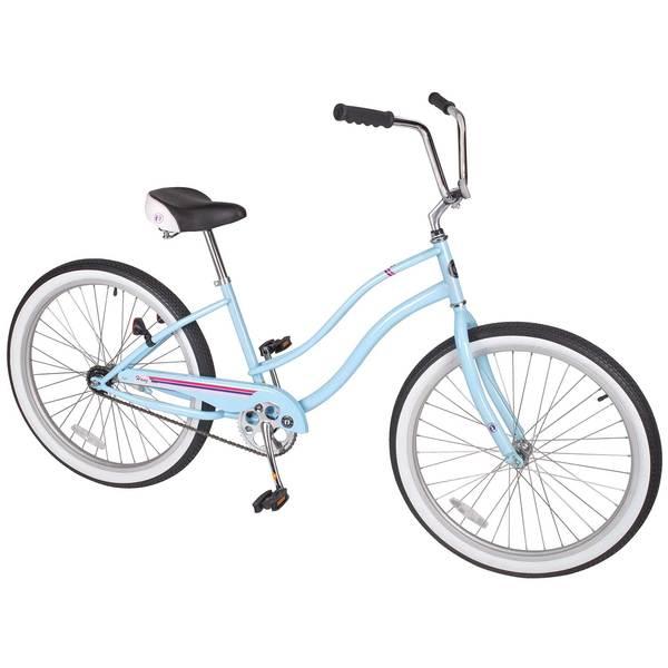 Hang Ten Womens 26 Single-Speed Cruiser Bike