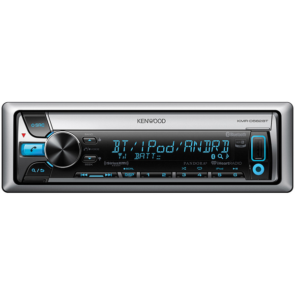 Kenwood Marine CD Receiver with Built-in Bluetooth D562BT