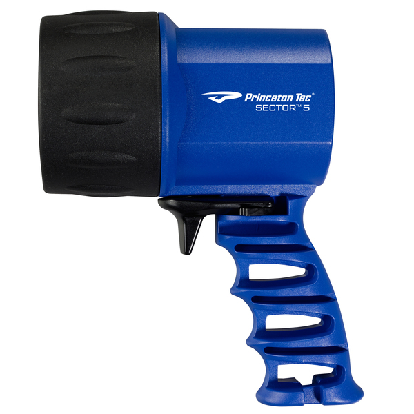 Princeton Tec Sector 5 Handheld LED Spotlight, Blue