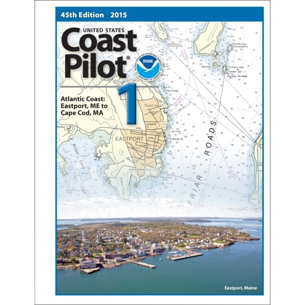 Oceangrafix Chart Coast Pilot 1 Atlantic Coast: Eastport, ME to Cape Cod