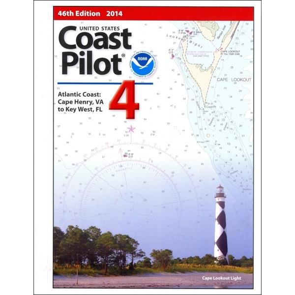 Oceangrafix Chart Coast Pilot 4 Atlantic Coast: Cape Henry, VA, FL