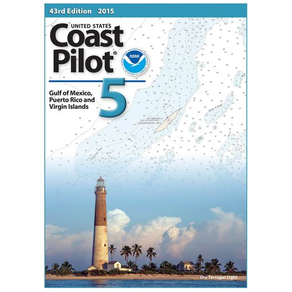Oceangrafix United States Coast Pilot 5 - Gulf of Mexico, Puerto Rico and Virgin Islands