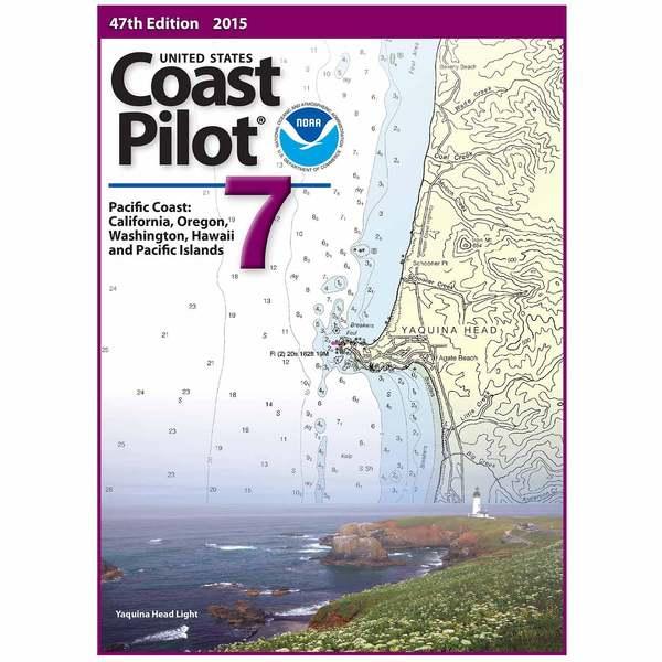 Oceangrafix United States Coast Pilot 7 - Pacific Coast: California, Oregon, Washington, Hawaii and Pacific Islands