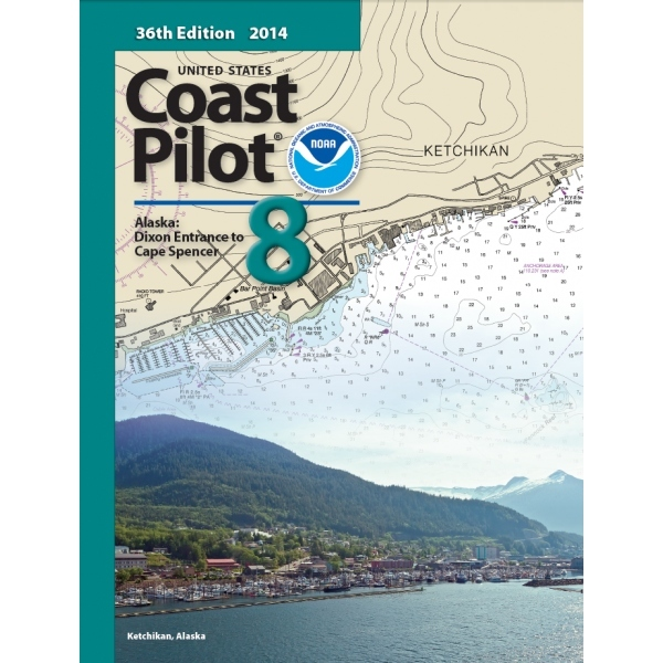 Oceangrafix Chart Coast Pilot 8 AK: Dixon Ent to Cape Spencer