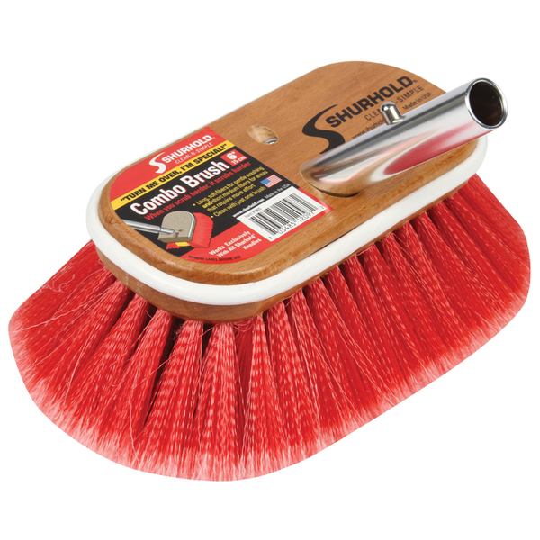 Shurhold Combo Deck Brush, 6
