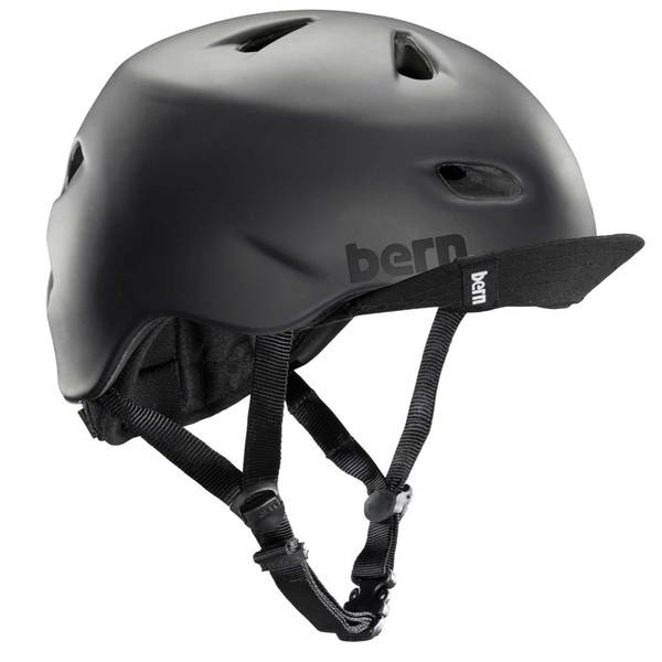BERN Men's Brentwood Bike Helmet, Black, L/XL
