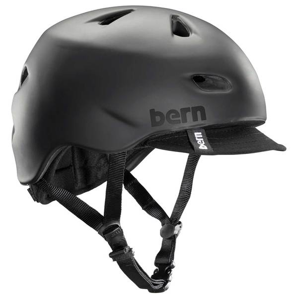 BERN Men's Brentwood Bike Helmet, Black, 2XL/3XL