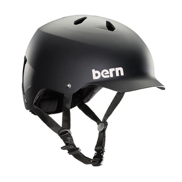 Bern Unlimited Watts EPS Bike Helmet, Black, Small/Medium