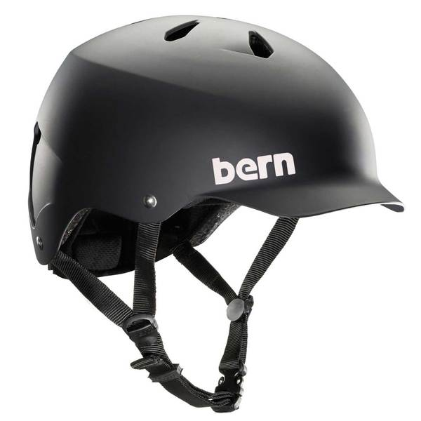 BERN Men's Watts EPS Bike Helmet, Black, 2XL/3XL