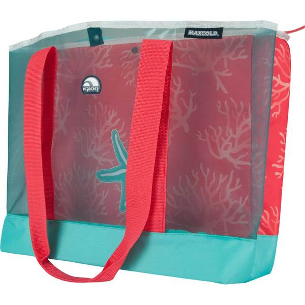 Igloo MaxCold Coral Soft-Sided Cooler, 20qt.