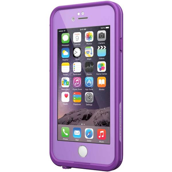 Lifeproof iPhone 6 fre Case, Pumped Purple Sale $79.99 SKU: 16334328 ID# 77-50337 UPC# 660543375227 :