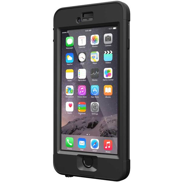 Lifeproof iPhone 6 nuud Case, Black