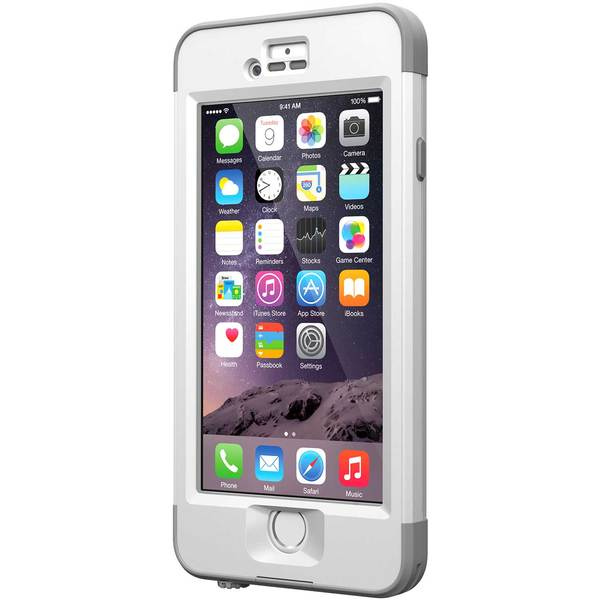 Lifeproof iPhone 6 nuud Case, White