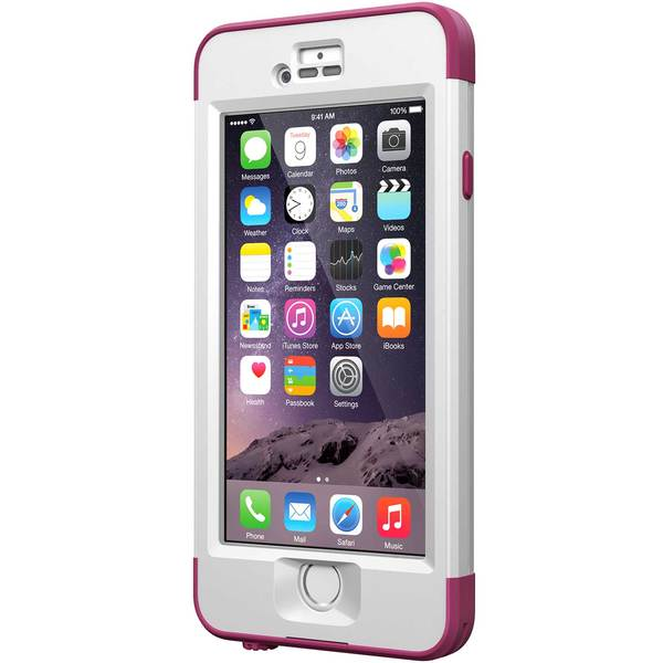 Lifeproof iPhone 6 nuud Case, Pursuit Pink