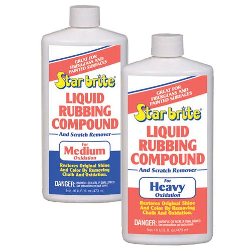 Star Brite Liquid Rubbing Compound - Medium