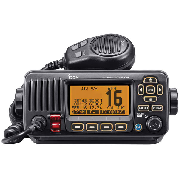 ICOM M324 Fixed VHF Radio—Black Sale $199.99 SKU: 16350621 ID# M324 01 UPC# 731797021489 :