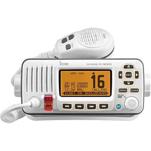 ICOM M324 Fixed VHF Radio—White Sale $199.99 SKU: 16350639 ID# M324 02 UPC# 731797021472 :