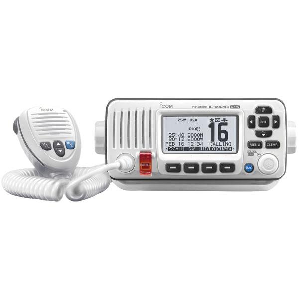 ICOM M424G Fixed VHF Radio with GPS Receiver—White Sale $329.99 SKU: 16350670 ID# M424G 22 UPC# 731797021571 :