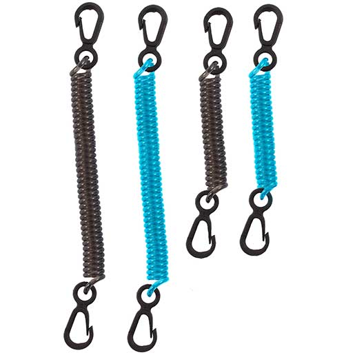 Seattle Sports Dry Doc Coiled Tether, 4-Pack Sale $5.99 SKU: 16352494 ID# 48320 UPC# 780292483209 :